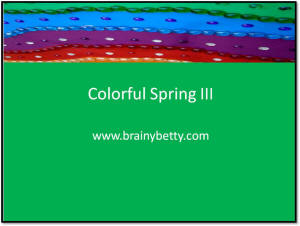 Free powerpoint backgrounds and powerpoint templates brainy betty spring 2010 backgrounds an explosion of color toneelgroepblik Image collections