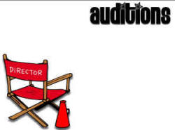 "free ""auditions"" printable poster"